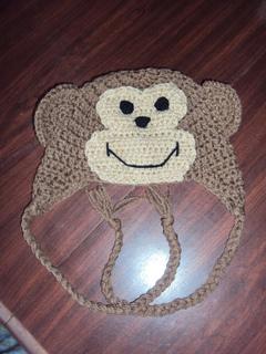 Free Knitting Pattern For Baby Monkey Hat : Ravelry: Monkey Hat pattern by Ashley Phelps