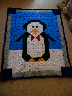 Ravelry: Penguin Cuddle Quilt pattern by C.L. Halvorson