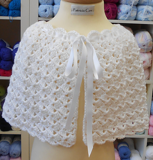 Ravelry: Flower Girl Cape and Purse pattern by Patricia Cox