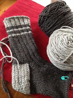 Knitting Patterns For Work Socks : Ravelry: Old fashioned work socks pattern by Cheryl Wartman