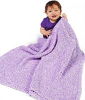 Happy Baby Blanket - Lion Brand Yarn