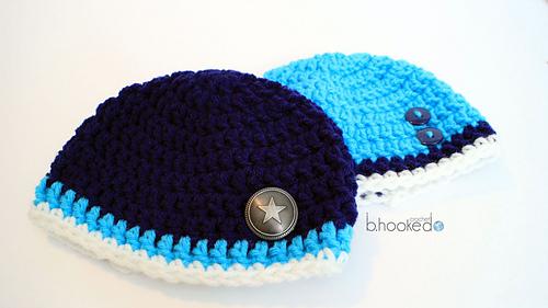 Ravelry: Beginner Newborn Beanie pattern by B.hooked Crochet