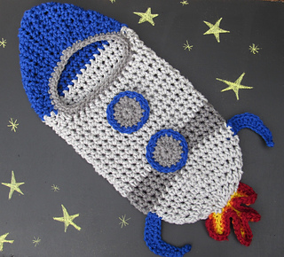 Ravelry Rocket Ship Newborn Cocoon Pattern By Wendydae