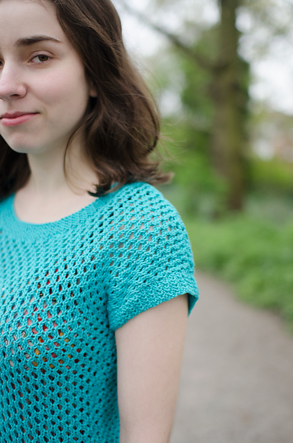 Summer top pattern on Ravelry