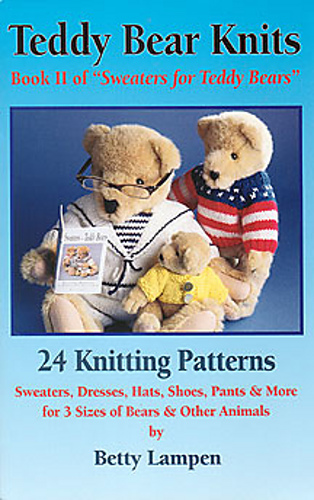 ravelry teddy bear knits book ii of sweaters for teddy bears patterns. Black Bedroom Furniture Sets. Home Design Ideas