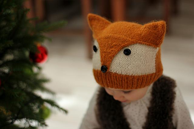 """针织帽:""""狡猾的狐狸"""" - maomao - 我随心动"""
