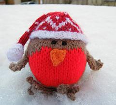 Ravelry: Christmas Robin pattern by Jacqui Turner