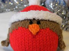 Knitting Pattern Christmas Robin : Ravelry: Christmas Robin pattern by Jacqui Turner