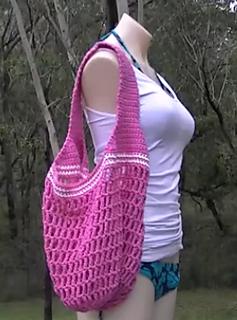 Ravelry: Market Bag 1 Strap Crochet Tutorial pattern by ...