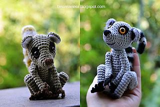 Amigurumi Nurse Free Pattern : Ravelry: Sart? the Lemur - amigurumi pattern by Ilaria ...