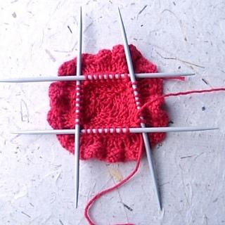 Ravelry: Remembrance Poppy to knit pattern by Katy Sparrow