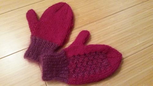 Ravelry: Doreen Knitting #91, 2 Needle Mittens - patterns