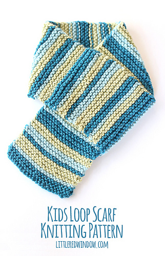 Ravelry Kids Loop Scarf Pattern By Cassandra May