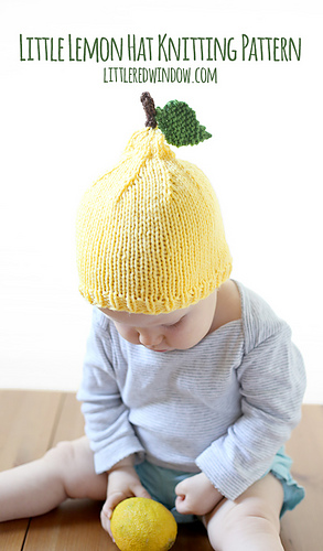Little_lemon_hat_baby_kids_knitting_pattern_03b_littleredwindow_medium