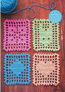 Ravelry Fillet Crochet Heart Clover Diamond Fox