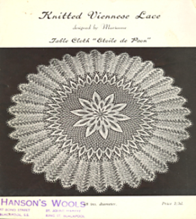 Ravelry: A.N.P. No 1: Knitted Viennese Lace, Table Cloth ...