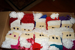 My crochet hat: CROCHETED SANTA HAT PATTERN