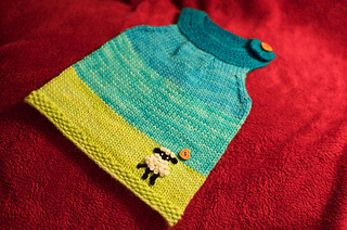 Ravelry: The Emma Tunic - Teeny Sizes pattern by Jennifer Alexander