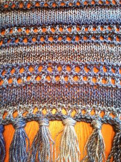 Ravelry Double Eyelet Stitch Prayer Shawl Pattern By