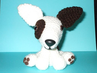 Chiwaluv Amigurumi Critters Blog : Ravelry: Bull Terrier Puppy pattern by Chiwaluv Amigurumi ...