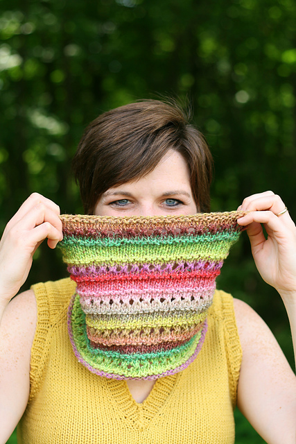 Birthday Cake Cowl by Christina Wall