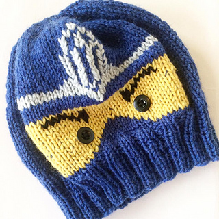 Ravelry Ninjago Lue Hat Pattern By Cecilie Hegge
