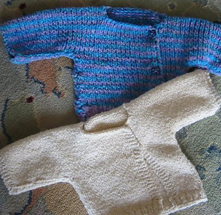 Plain Childs Jumper Knitting Pattern : Ravelry: Simply Knitted Baby Sweater pattern by Cindy Walker