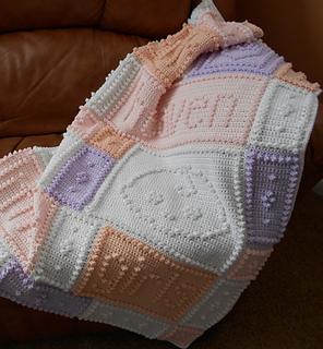 Ravelry Heaven Baby Blanket Pattern By Jody Pyott