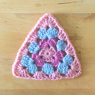 Ravelry Granny Triangle Motif Pattern By Colour And Cotton