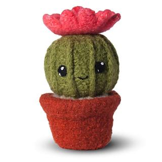 Tecnica Amigurumi Cactus : Ravelry: Felted Knit Amigurumi Cactus pattern by Lisa Eberhart