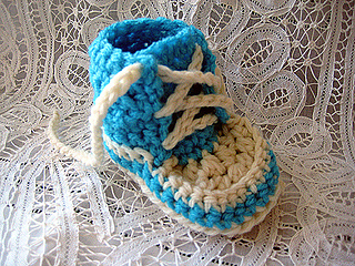 Free Crochet Pattern For Baby High Tops : Craft Passions: Newborn High Tops.# free # crochet pattern ...