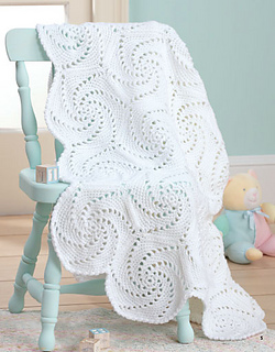 Free Pinwheel Crochet Baby Blanket Pattern : Ravelry: Twirling Pinwheels pattern by Carole Rutter Tippett