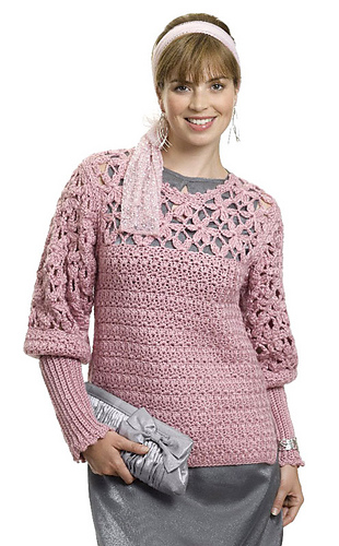 Ravelry: Rose of Sharon Tunic pattern by Mary E. Nolfi