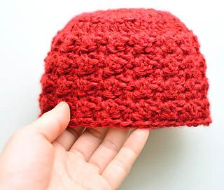 Crochet Flower Pattern Rose By Rachel Choi : Ravelry: Blanket Stitch Baby Hat pattern by Rachel Choi