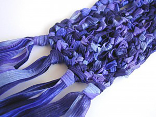 Free Knitting Pattern For Ribbon Scarf : Ravelry: One Ball Ribbon Scarf pattern by Robin Beers
