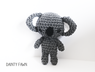 Amigurumi Koala Keychain : Ravelry: Koala Amigurumi pattern by Tiny Moon
