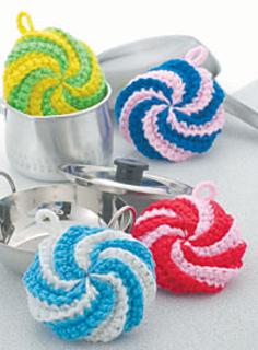 Pierrot Yarn Free Crochet Patterns : Ravelry: 23-44 Tawashi pattern by Pierrot (Gosyo Co., Ltd)