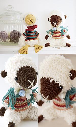 Ravelry: Amigurumi Sheep pattern by Pierrot (Gosyo Co., Ltd)