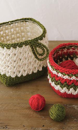 Pierrot Yarn Free Crochet Patterns : Ravelry: Accessory Basket pattern by Pierrot (Gosyo Co., Ltd)