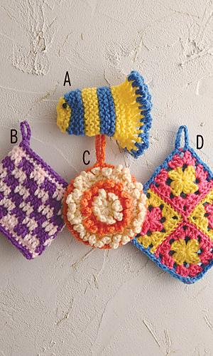 Pierrot Yarn Free Crochet Patterns : Ravelry: amicomo5-14 C Flower Tawashi pattern by Pierrot ...