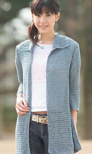 Free Crochet Pattern For Sweater Coat : 10 Free Adult Jacket Crochet Patterns The Steady Hand