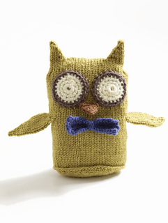 Ravelry: Wise Owl Toy pattern by Lion Brand Yarn