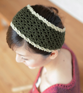 Ravelry: amicomo7-4 Headband pattern by Pierrot (Gosyo Co ...