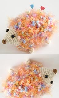 Pierrot Yarn Free Crochet Patterns : Ravelry: Colorful Hedgehog pattern by Pierrot (Gosyo Co., Ltd)