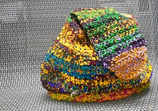 Crochet Grab Bag Pattern : Ravelry: Slouchy Grab Bag Made from Recycled Silk Yarn ...