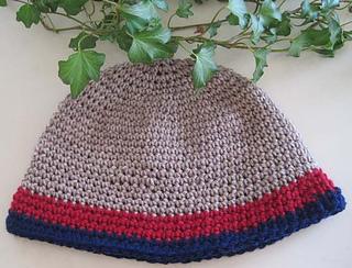 Crochet_hat_tan_red_blue_flat_small2