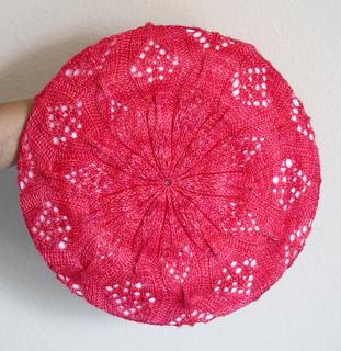 Ravelry: Butterfly Lace Beret pattern by Deepika