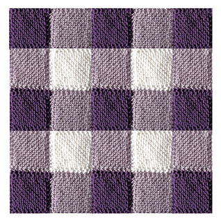 Knitted Square Patterns Free : Ravelry: Blanket Square Diagonal Garter Stitch pattern by Audrey Wilson