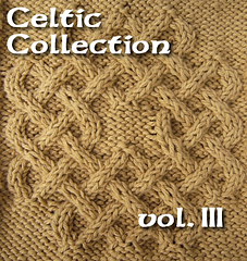 Ravelry: Celtic Knots for Knitting vol. III pattern by Devorgillas Knitt...