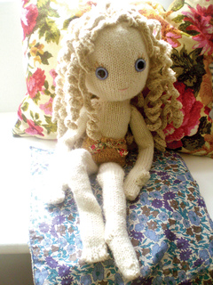 Ravelry Pixie New Knitted Doll Pattern By Claire Garland